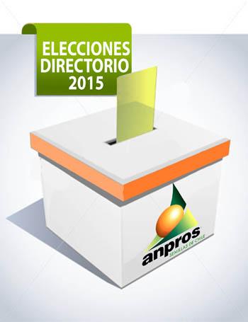 Lunes 8 de junio vence el plazo para postular a Directorio de ANPROS 2015
