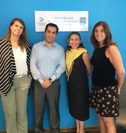 ANPROS se reúne con Misión Económica y Comercial de la Embajada de Israel en Chile