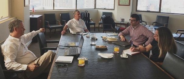 1er Vicepresidente de ISF visita ANPROS