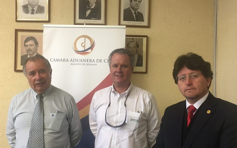Cámara Aduanera de Chile fija agenda de trabajo en conjunto con ANPROS