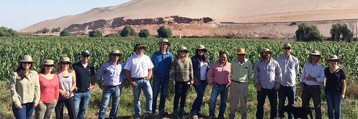 Comité de Biotecnología visita Valle de Lluta
