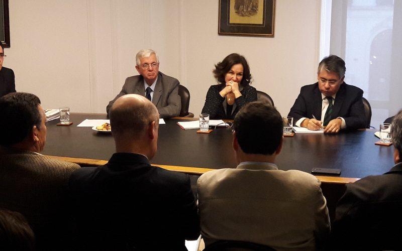 ANPROS presente en mesa Nacional Agrícola de SNA con ministra del Trabajo, Alejandra Krauss