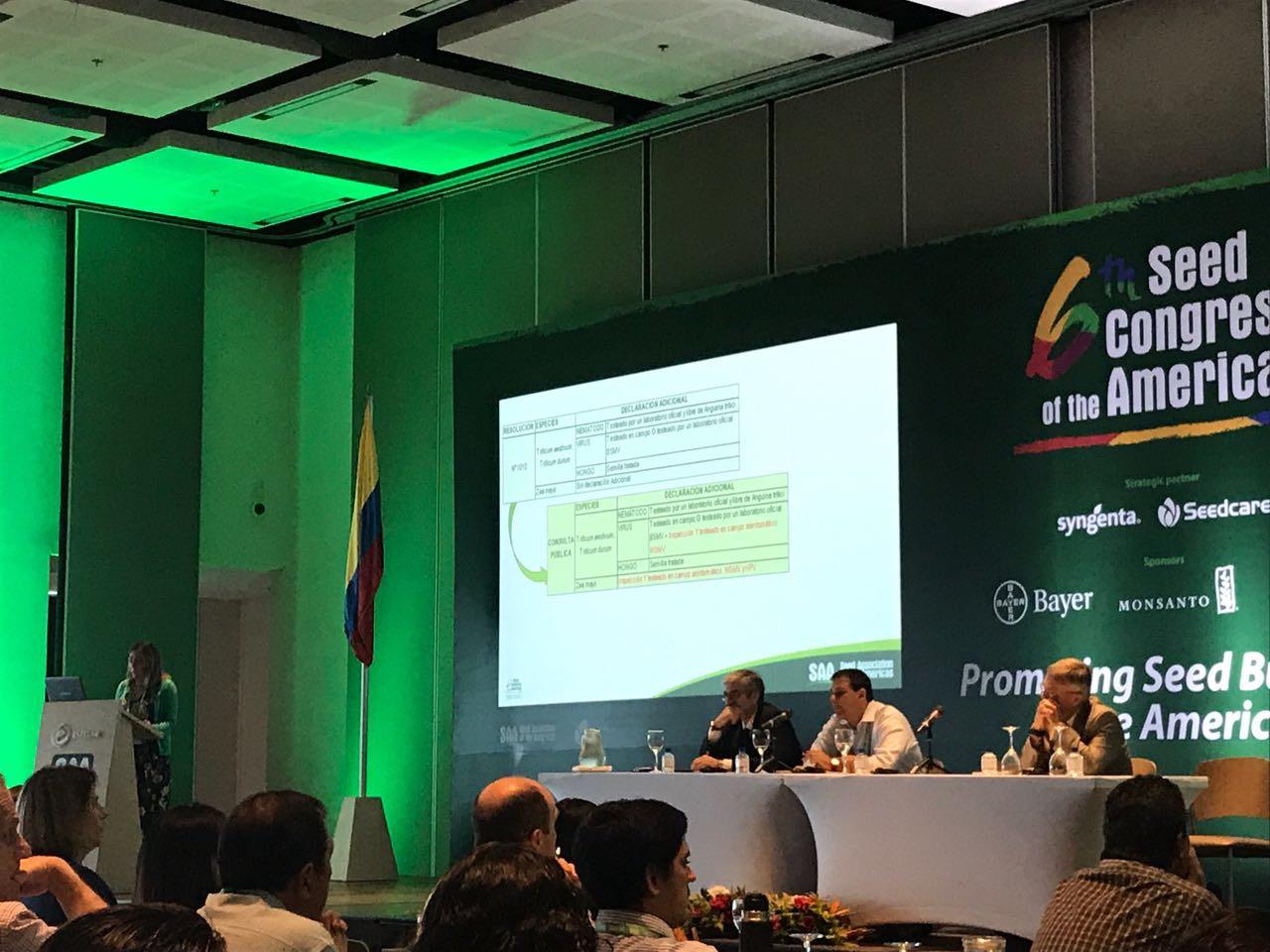 Jefa Técnica de ANPROS expone en Congreso de la SAA en Cartagena de Indias