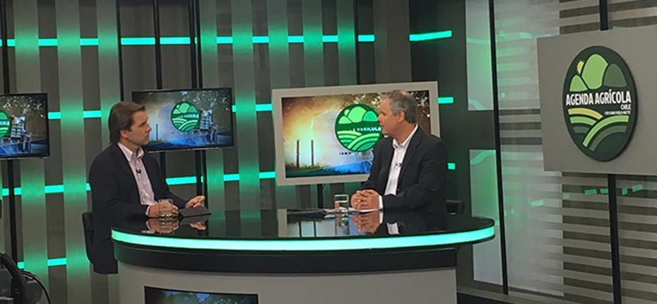 Mario Schindler, nuevo Director Ejecutivo de ANPROS, en Agenda Agrícola de CNN Chile
