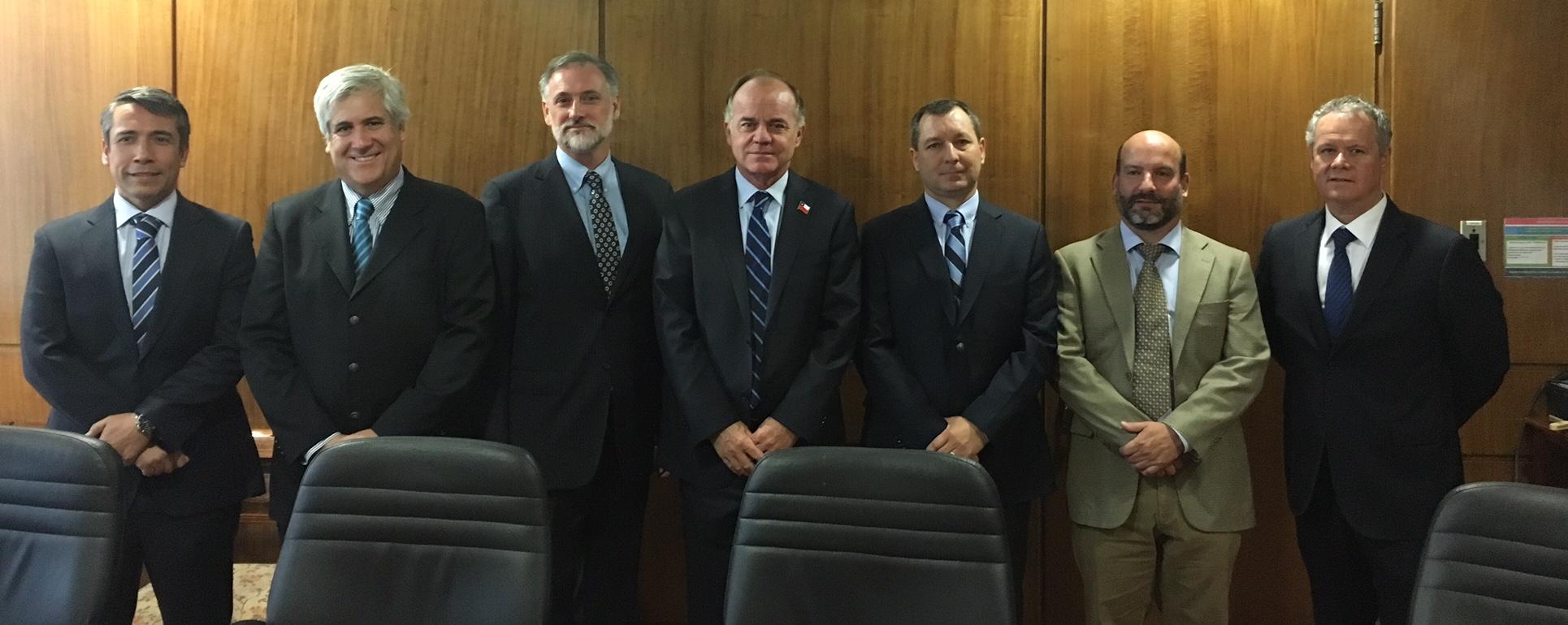 Directorio de ANPROS se reúne con Ministro de Agricultura