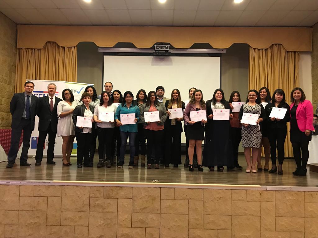 Emotiva ceremonia de Certificación de Competencias Laborales en Rancagua