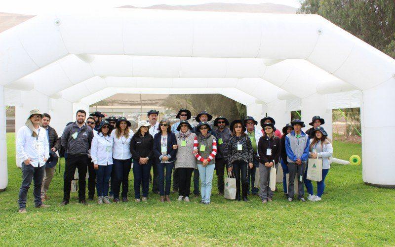 """Exitoso Día de campo: """"Puertas Abiertas ANPROS"""" en Arica"""