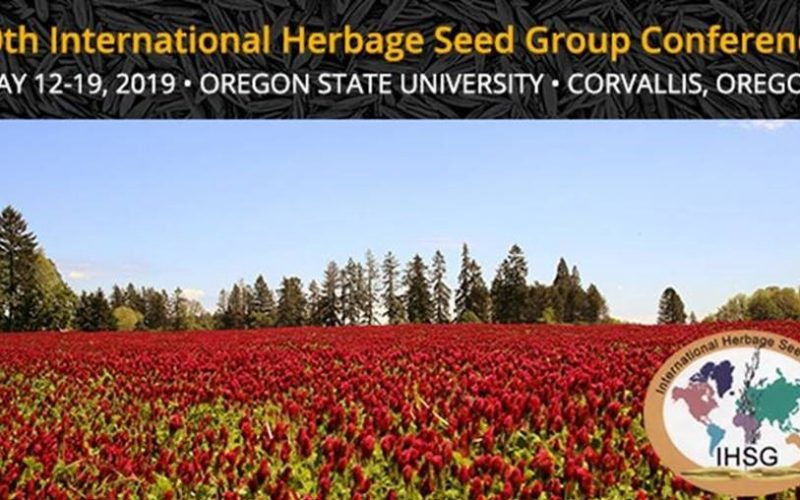 10th International Herbage Seed Group Conference