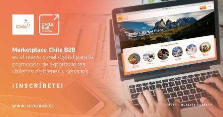 CHILEB2B, el nuevo canal digital de ProChile para la promoción de exportaciones chilenas
