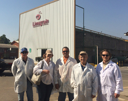Delegación de ASTA en visita oficial coordinada por ANPROS