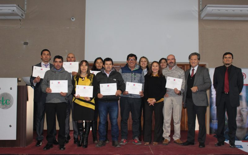 Felices se vieron los Trabajadores de Hortisem y Uwafen tras su certificación en competencias laborales