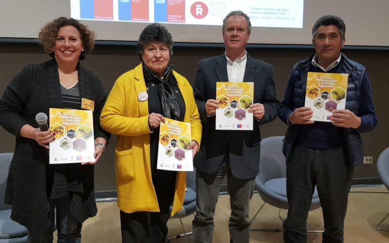 Lanzamiento del 1er Manual del Polinizador permitirá mejorar procesos y profesionalizar el sector apícola