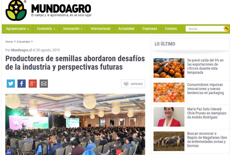 Productores de semillas abordaron desafíos de la industria y perspectivas futuras