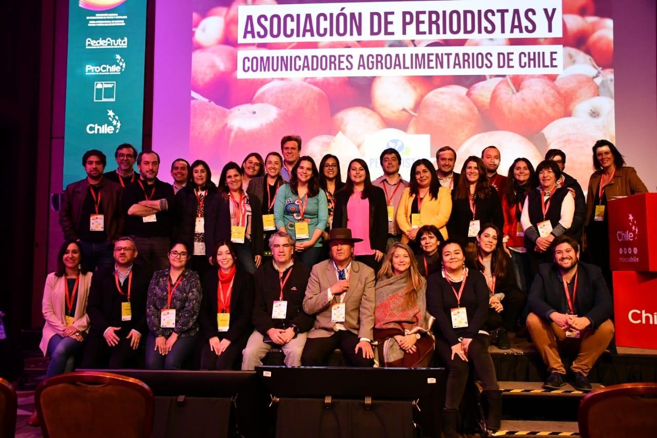 Red de Periodistas Agroalimentarios de Chile se consolida como gremio