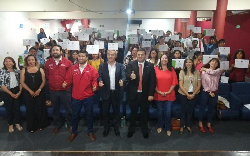 TRABAJADORES DE SEMILLERAS DE ARICA PARINACOTA CERTIFICAN SUS COMPETENCIAS LABORALES