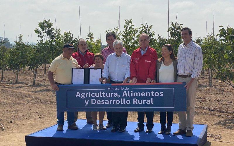Presidente Piñera firma proyecto que crea el nuevo Ministerio de Agricultura, Alimentos y Desarrollo Rural