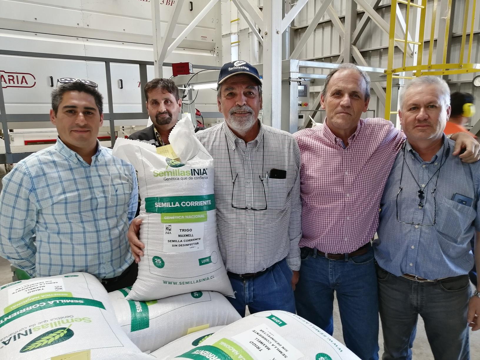 Director Nacional INIA destacó proceso de selección de semillas certificadas de INIA en Chillán
