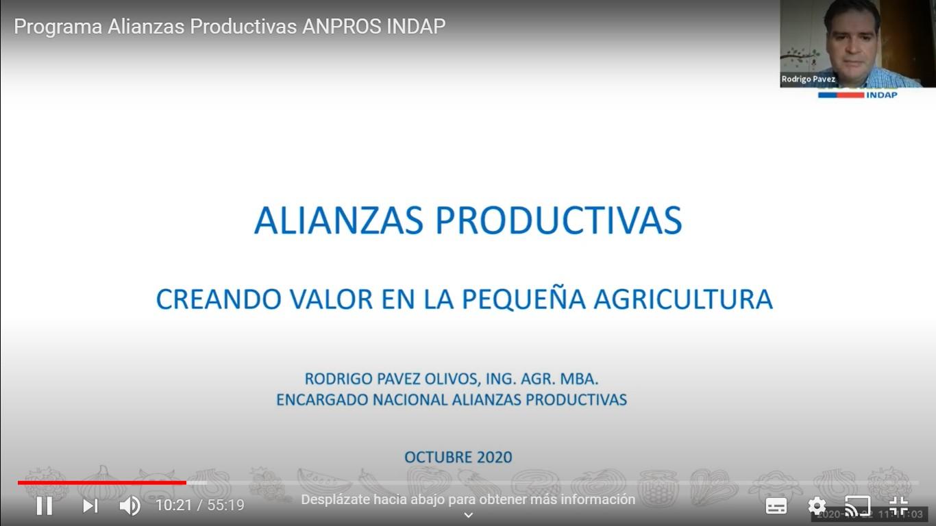 INDAP PRESENTÓ ACUERDO DE ALIANZAS PRODUCTIVAS CON LA INDUSTRIA SEMILLERA
