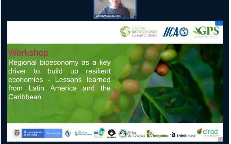 Proyectos de bioeconomía de Argentina, Brasil, Colombia y Costa Rica concentran atenciones en cumbre global