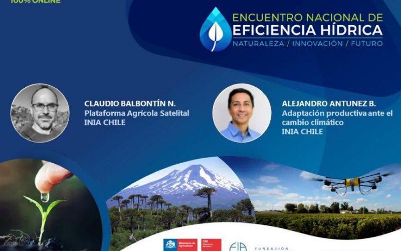 Especialistas en riego y mejoramiento genético de INIA presentaron nuevas tecnologías para enfrentar el cambio climático