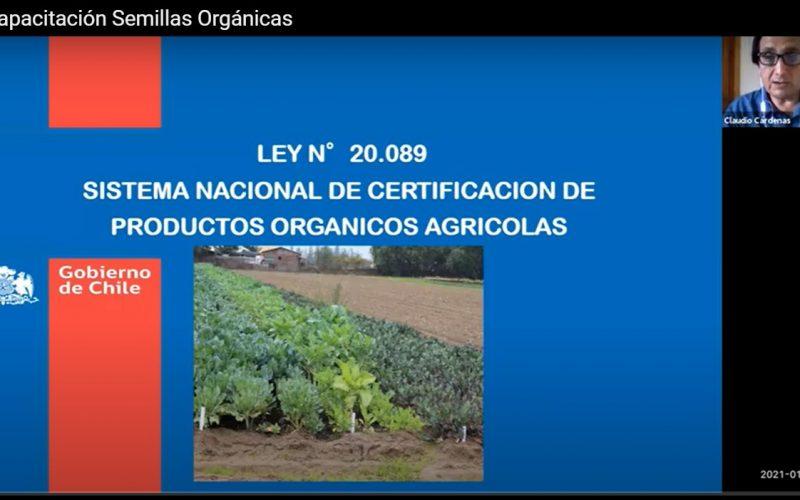 Capacitación SAG sobre Semillas Orgánicas