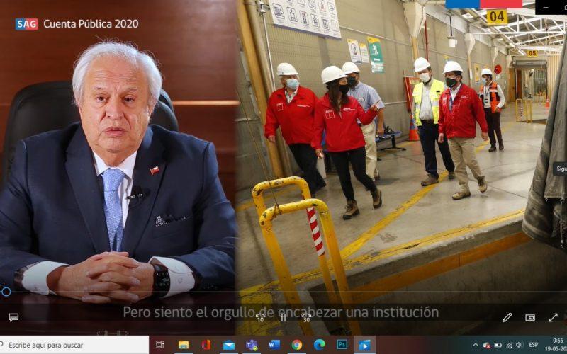 Director Nacional del SAG ofrece la Cuenta Pública de la gestión 2020
