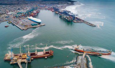 Puerto de San Antonio mueve 15,8% más carga frente a primer semestre de 2020